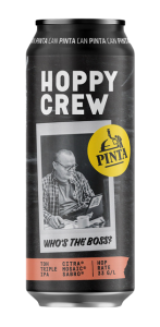 "Hoppy Crew ""Who's The Boss?"", Browar PINTA"