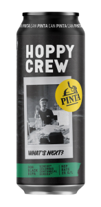 "Piwo Hoppy Crew "" What's Next?"", Browar PINTA"