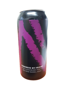 Piwo Darkness My Friend Sour Chokeberry Porter Red Wine Barrel Aged, Browar Maryensztadt